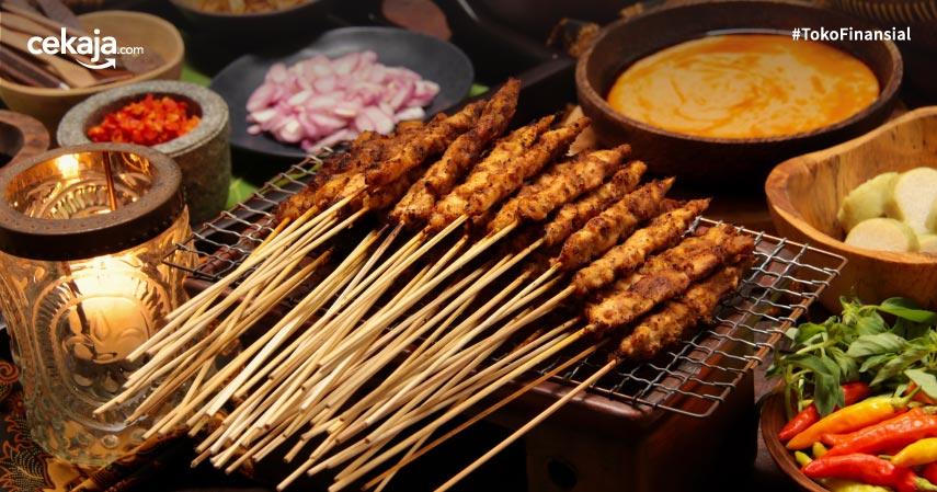 14 Jenis Sate Khas Indonesia, Mana yang Belum Kamu Coba?