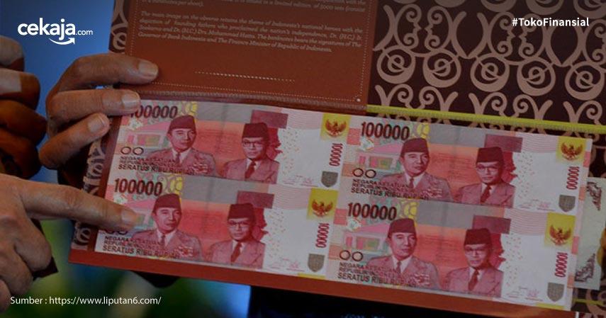 6 Fakta Uang Rp100 Ribu Bersambung beserta Cara Membelinya