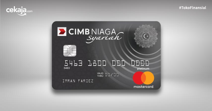 Promo dan Fitur Kartu Kredit CIMB Niaga Mastercard Syariah Platinum