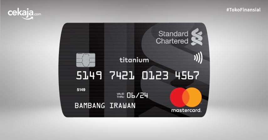 Deretan Fitur dan Manfaat Kartu Kredit Standard Chartered Titanium