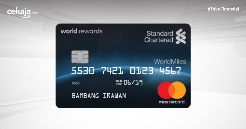 Syarat dan Cara Apply Kartu Kredit Standard Chartered WorldMiles Untuk Si Hobi Traveling