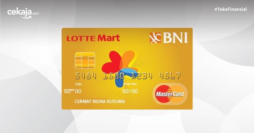 Ini Promo dan Fitur Kartu Kredit BNI Mastercard Lottemart Gold yang Wajib Diketahui
