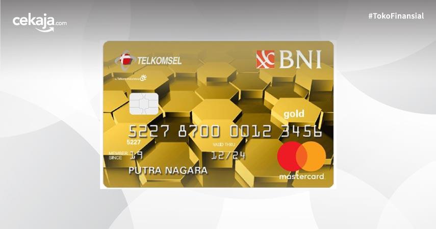Cara dan Syarat Apply Kartu Kredit BNI Telkomsel Mastercard Gold Untuk Gaya Hidup Serba Digital