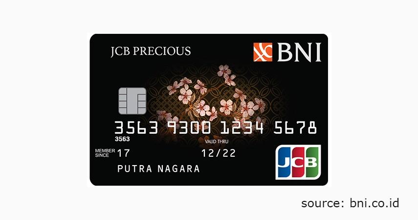 6 Jenis Produk Kartu Kredit BNI untuk Berbagai Gaya Hidup - BNI JCB Precious