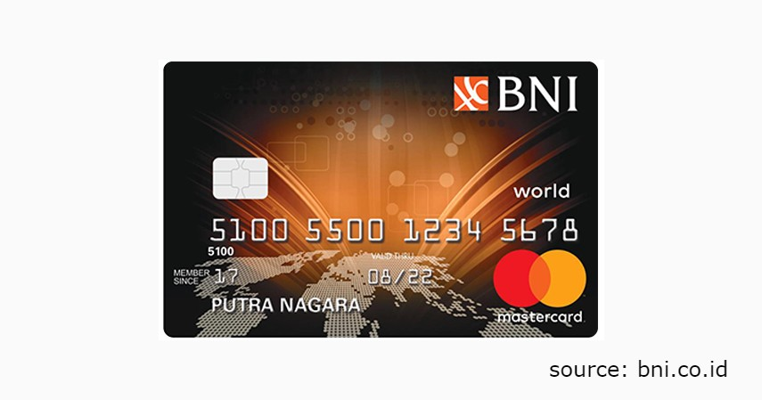 6 Jenis Produk Kartu Kredit BNI untuk Berbagai Gaya Hidup - BNI MasterCard World