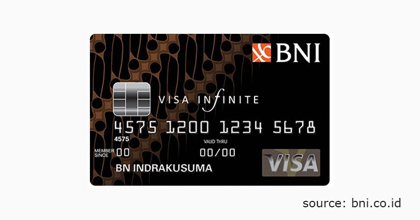 6 Jenis Produk Kartu Kredit BNI untuk Berbagai Gaya Hidup - BNI VISA Infinite