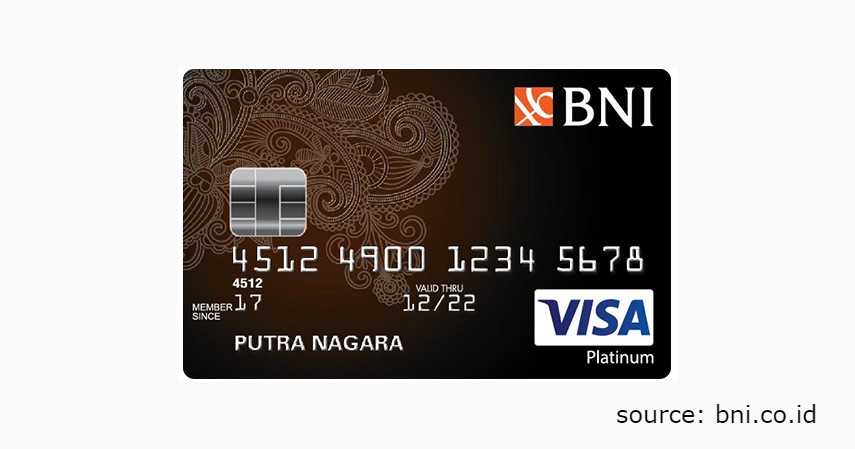 6 Jenis Produk Kartu Kredit BNI untuk Berbagai Gaya Hidup - BNI VISA Platinum