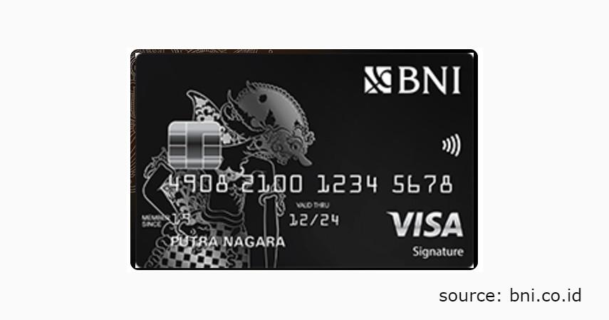 6 Jenis Produk Kartu Kredit BNI untuk Berbagai Gaya Hidup - BNI VISA Signature