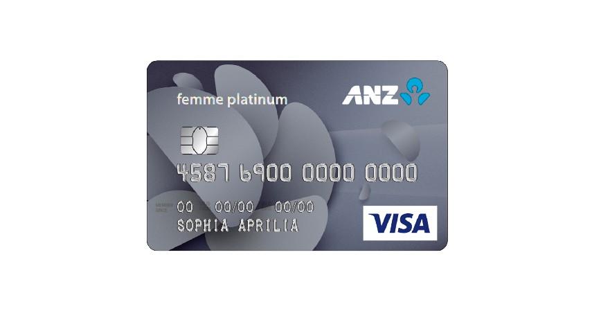 ANZ Femme Platinum - 8 Pilihan Kartu Kredit Terbaik untuk Wanita