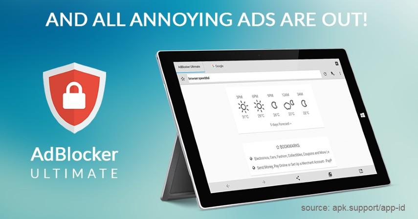 AdBlocker Ultimate Browser - Aplikasi Pemblokir Iklan Terbaik