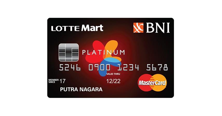BNI LotteMart Gold dan Platinum - 5 Rekomendasi Kartu Kredit BNI Terbaik