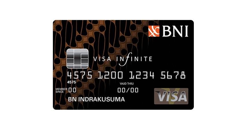 BNI Visa Infinite - 5 Rekomendasi Kartu Kredit BNI Terbaik