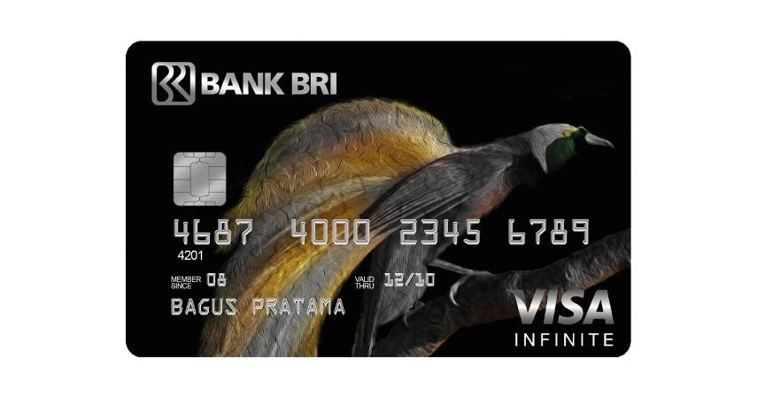 BRI Infinite Card - Biaya Tahunan dan Admin Kartu Kredit BRI 2021