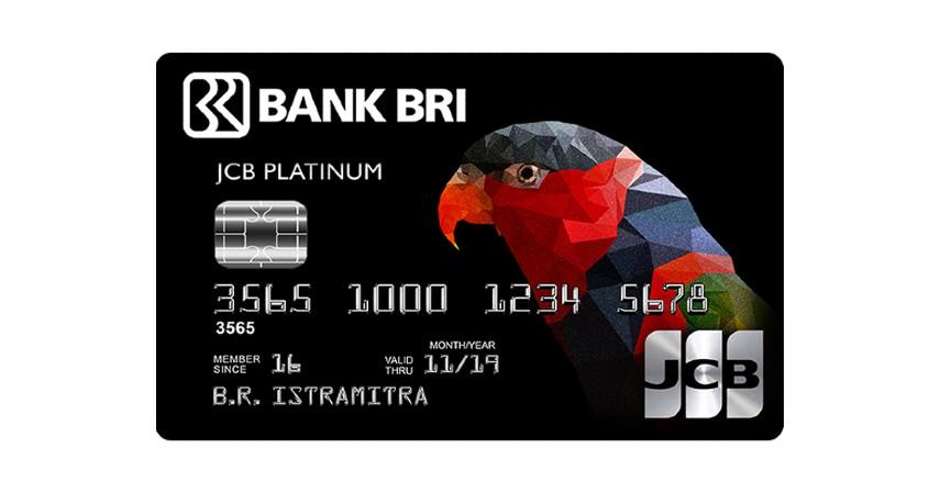 BRI JCB Platinum Card - Biaya Tahunan dan Admin Kartu Kredit BRI 2021
