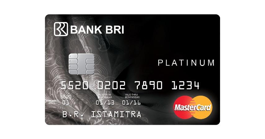 BRI Platinum Card - Biaya Tahunan dan Admin Kartu Kredit BRI 2021