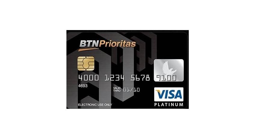 BTN Visa Platinum - 10 Kartu Kredit Limit Besar Terbaik 2021