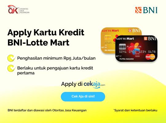 Kartu Kredit BNI Lottemart