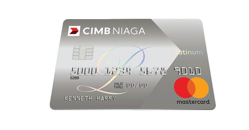CIMB Niaga Mastercard Platinum - 10 Kartu Kredit Limit Besar Terbaik 2021