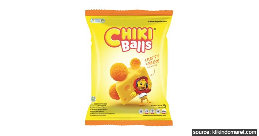 Chiki - 10 Daftar Snack Jadul Anak SD Generasi 90an