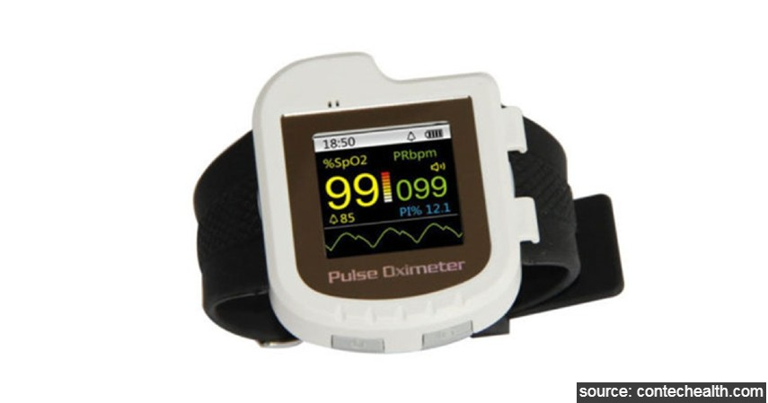Contecmed - CMS501 Pulse Oximeter - 7 Merk Pulse Oximeter Terbaik