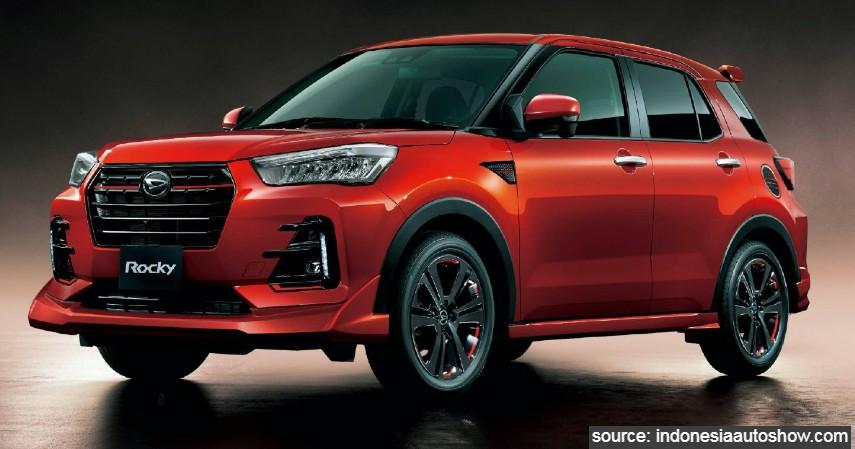 Daihatsu Rocky - 5 Calon Mobil Baru di Indonesia dengan Performa Tangguh