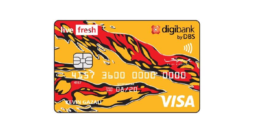 Digibank Live Fresh - 8 Kartu Kredit Cashback Terbaik