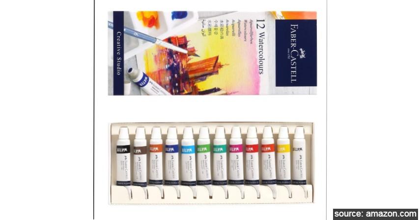 Faber Castell Watercolour - 8 Merk Cat Air Terbaik