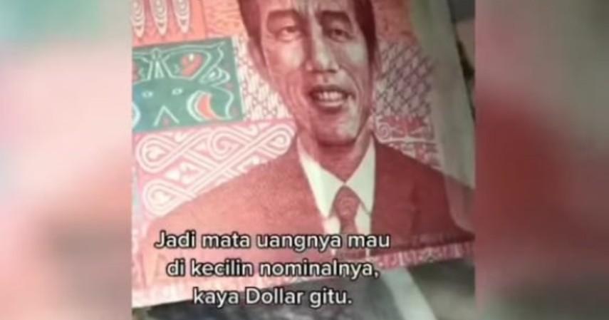 Fakta Menarik Uang Rupiah Bergambar Jokowi