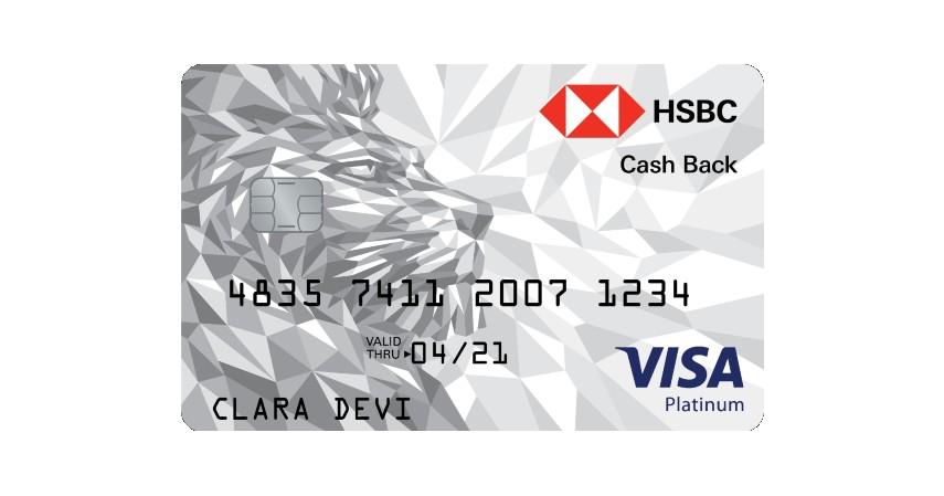 HSBC Platinum Cashback - 8 Kartu Kredit Cashback Terbaik