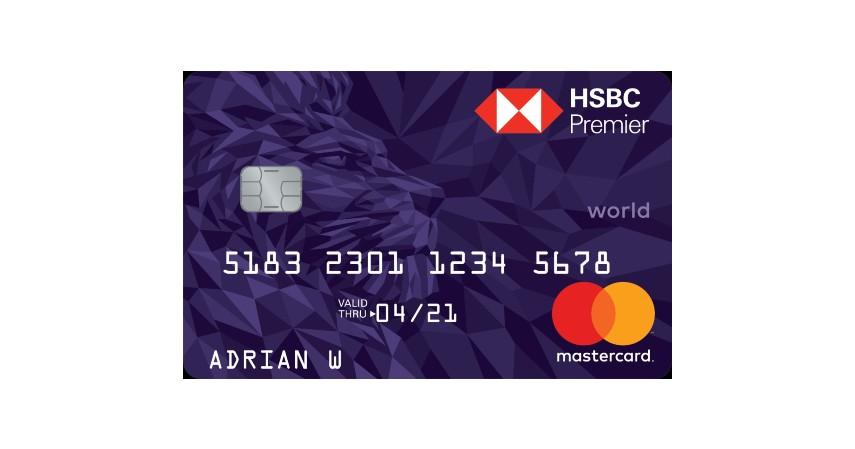 HSBC Premier Mastercard - 10 Kartu Kredit Limit Besar Terbaik 2021