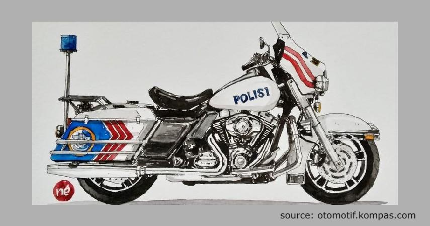 Harley Davidson Electra Glide - Jenis Moge Polisi Indonesia