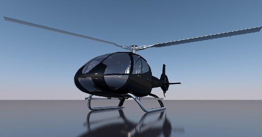 Helikopter - Fakta Taksi Terbang Helicity