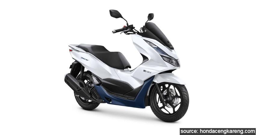 Honda PCX Hybrid - Daftar Motor Berfitur Smart Key di Indonesia