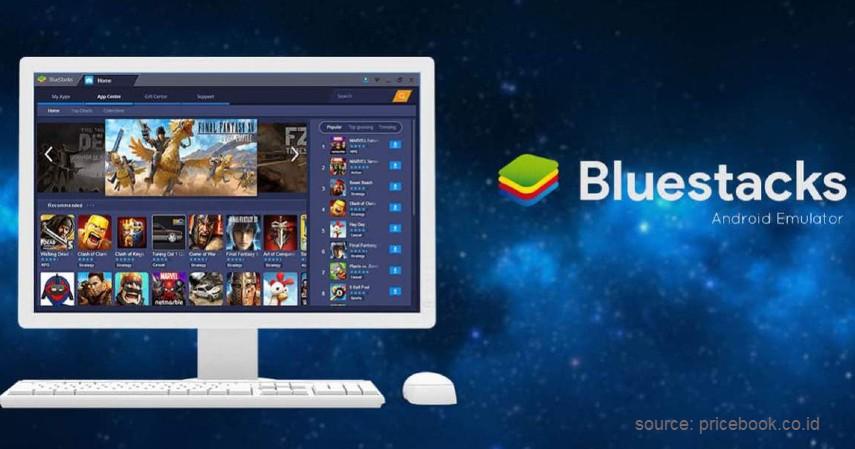 Install Emulator Bluestacks - Cara Telepon dan Video Call Whatsapp di Laptop