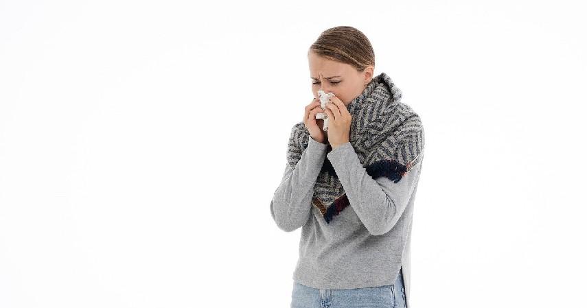 Iritasi selaput lendir - Penyebab Hidung Tak Bisa Mencium Bau