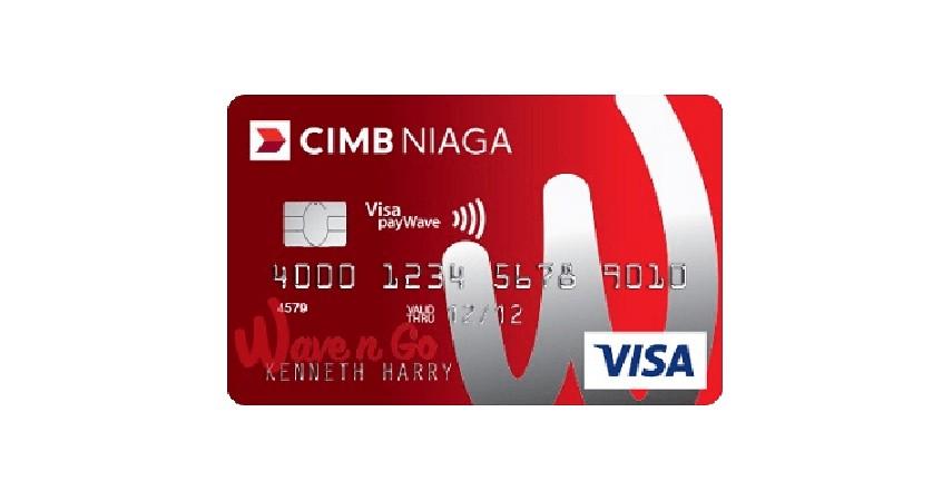 Kartu Kredit CIMB Niaga Wave n Go - 4 Kartu Kredit CIMB Niaga Untuk Belanja Lebih Hemat