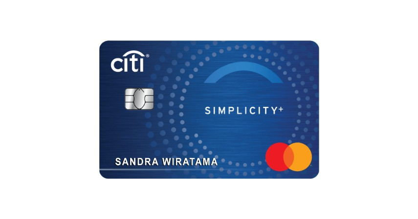 Kartu Kredit Simplicity+ - 7 Kartu Kredit Citibank Terbaik untuk Pebisnis
