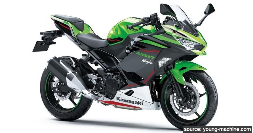 Kawasaki Ninja 250 - Daftar Motor Berfitur Smart Key di Indonesia
