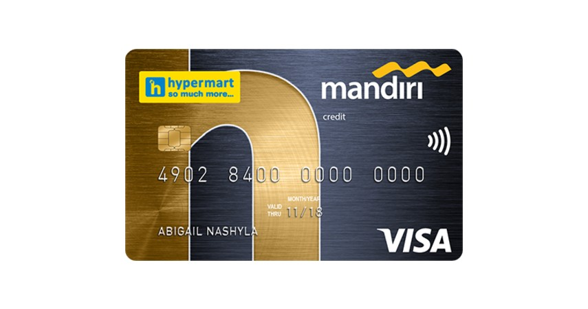 Mandiri Hypermart - 8 Kartu Kredit Cashback Terbaik