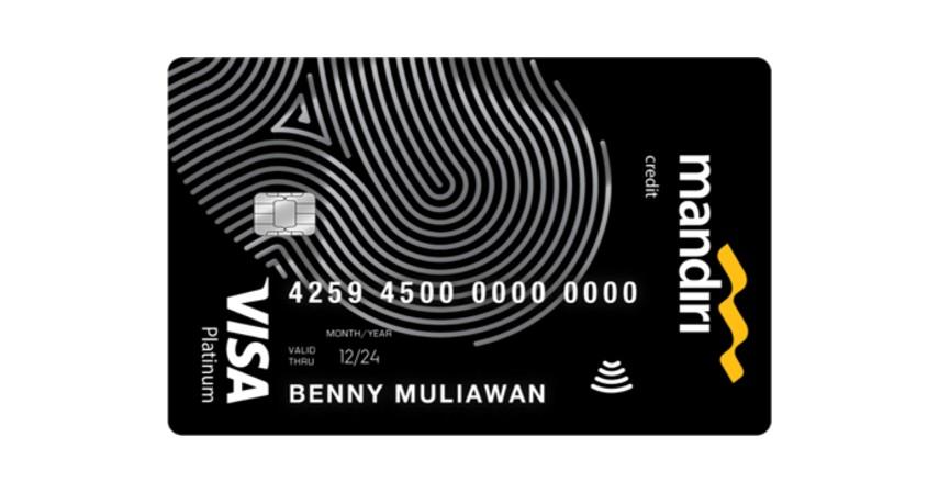 Mandiri Visa Platinum - 10 Kartu Kredit Limit Besar Terbaik 2021