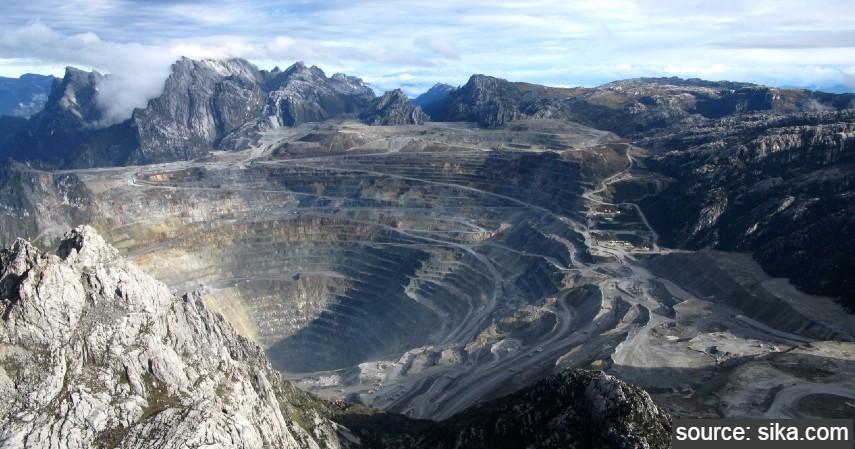 Papua - Tambang Grasberg - Kota Penghasil Emas Terbesar di Indonesia