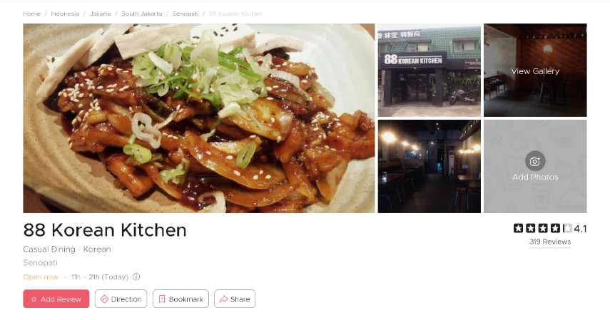 Restoran Korea Terpopuler di Jakarta Bercita Rasa LezatSiap-siap Lidah Bergoyang - 88 Korean Kitchen