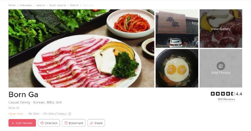 Restoran Korea Terpopuler di Jakarta Bercita Rasa LezatSiap-siap Lidah Bergoyang - Born Ga