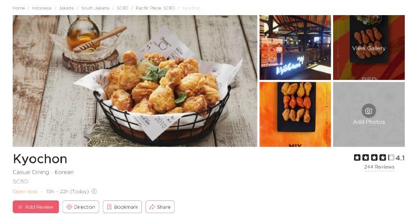 Restoran Korea Terpopuler di Jakarta Bercita Rasa LezatSiap-siap Lidah Bergoyang - Kyochon
