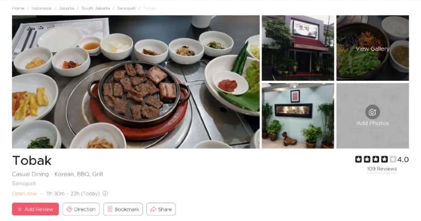 Restoran Korea Terpopuler di Jakarta Bercita Rasa LezatSiap-siap Lidah Bergoyang - Tobak