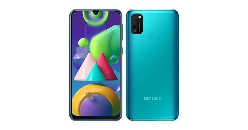 Samsung Galaxy M21 - 7 HP dengan Baterai 6000 mAh Terbaik