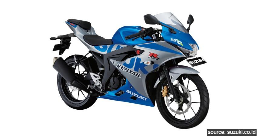 Suzuki GSX-R150 ABS - Daftar Motor Berfitur Smart Key di Indonesia