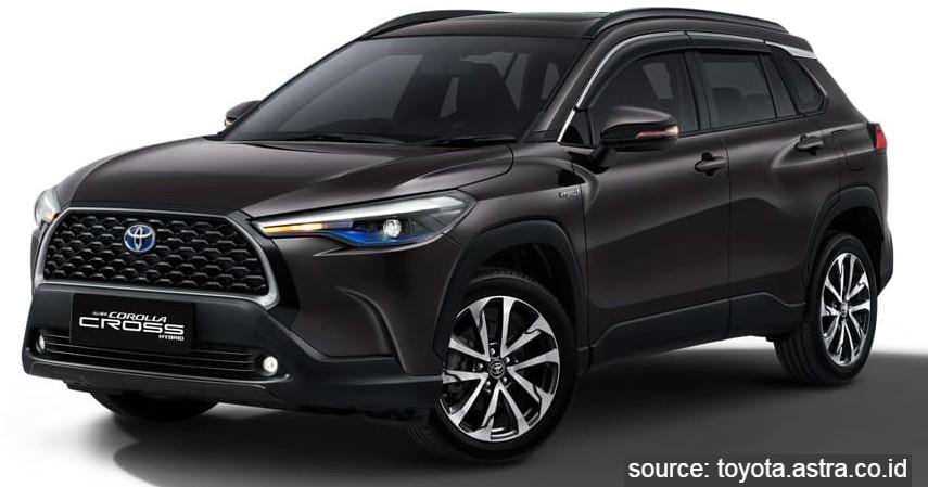 Toyota Corolla Cross Hybrid - 9 Daftar Mobil Listrik Murah di Indonesia