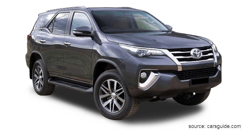 Toyota Fortuner - 10 Mobil Tahan Banjir Terbaik Anti Mogok Walau Terjang Banjir