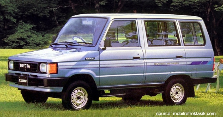 Toyota Kijang Super G 1996 - 10 Daftar Mobil Bekas Rp30 Juta
